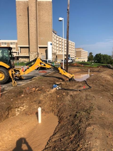 Storm Water Pond Excavation