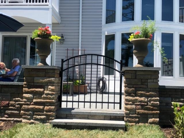 Customer Patio Gate