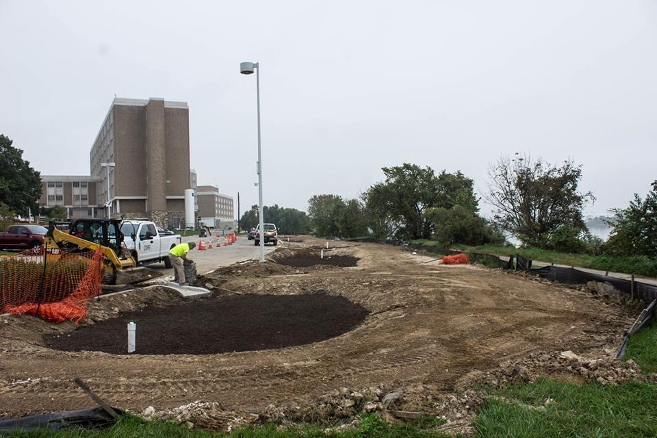 Storm Water Management Pond Construction