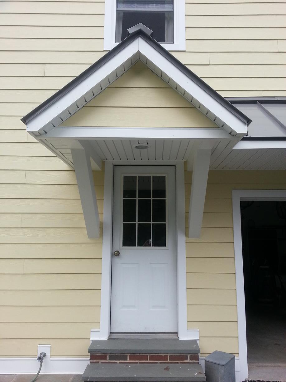 Remodeling Home's Side Entrance
