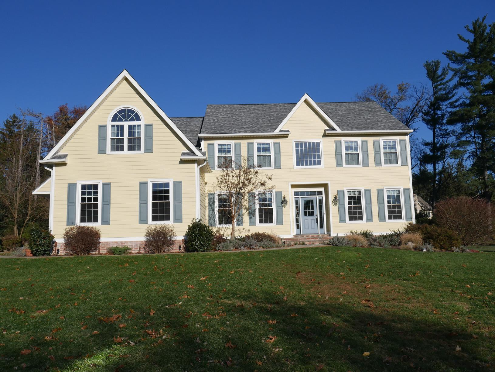 Final Photo of Siding, Windows, and Roof Replacement in PA