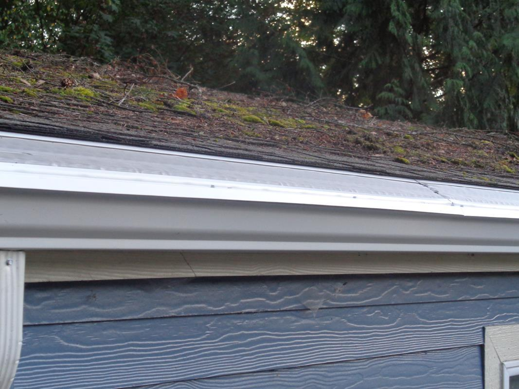 MasterShield will now keep the gutters clear