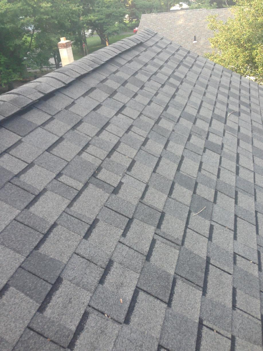 Close up of Shingle Roof