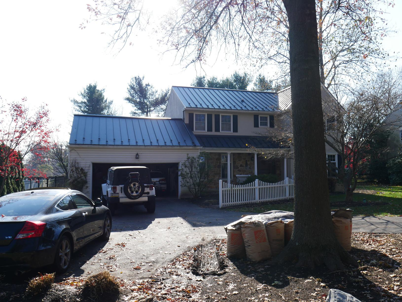 Metal Roof Installation in PA