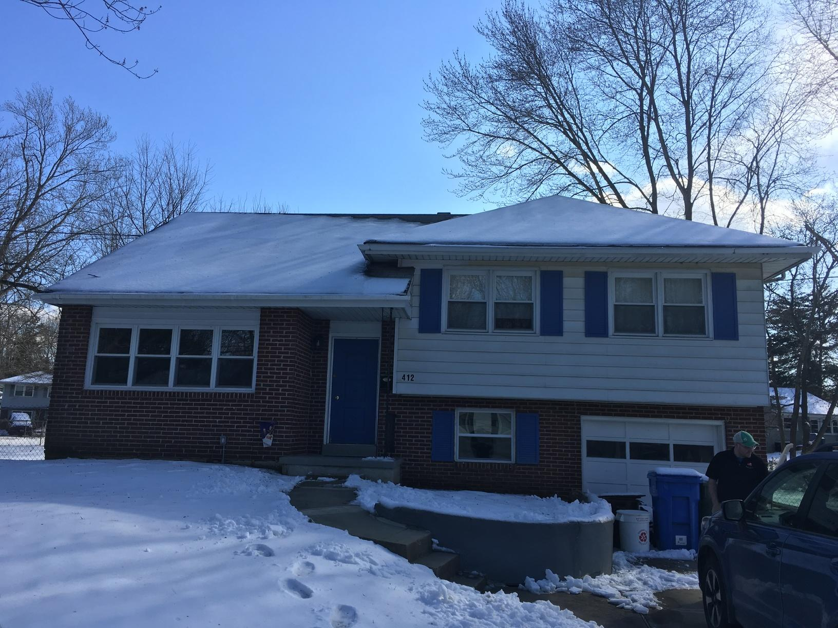 Replacing Home's Roof and Four Double Hungs in Cherry Hill, NJ