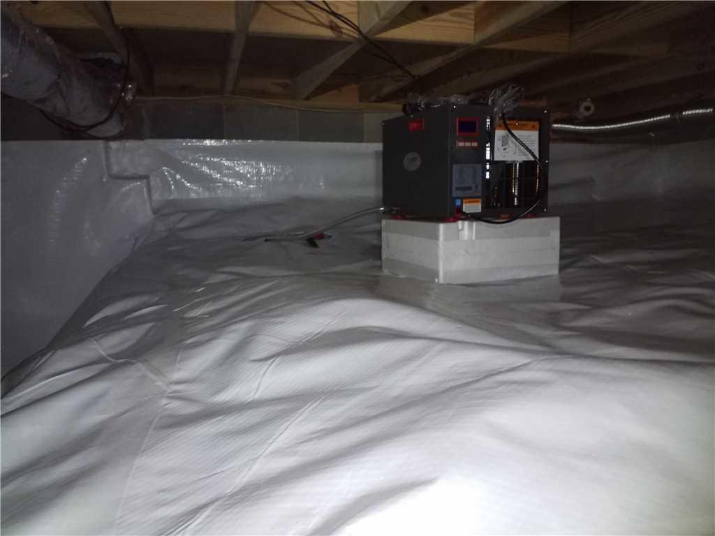 State-of-the-art SaniDry Sedona Dehumidifier