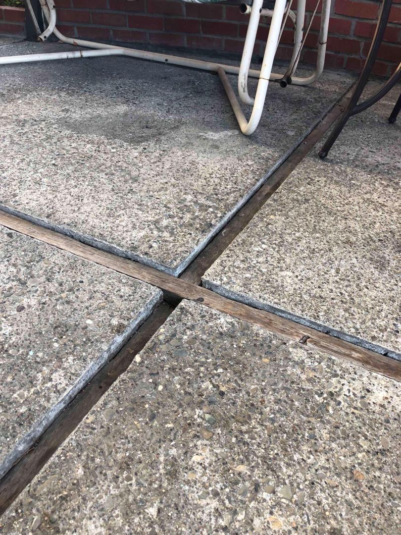 Uneven Patio Deck