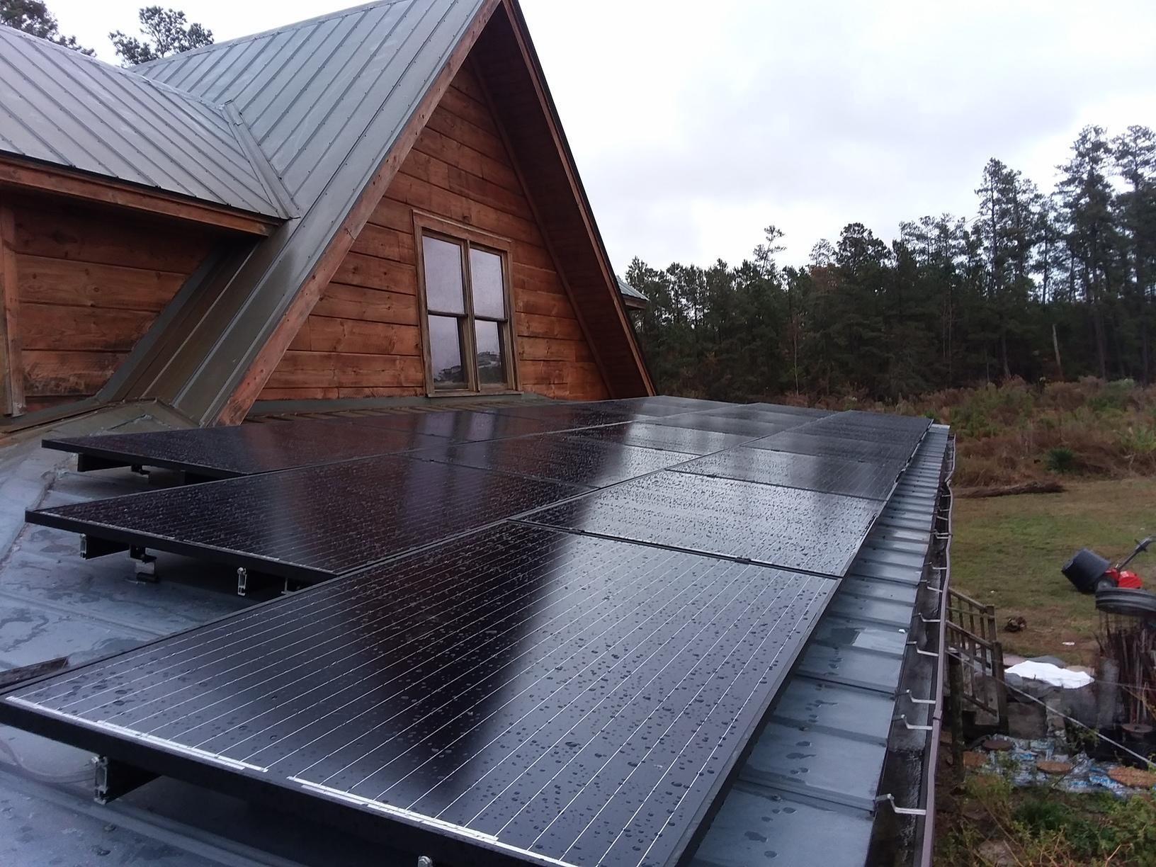 25 Hanwha Solar Panels