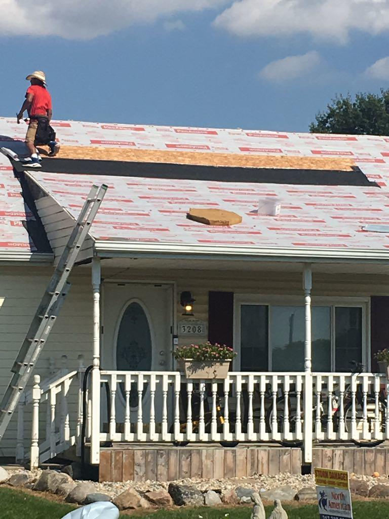 Prepping for Roof Replacement