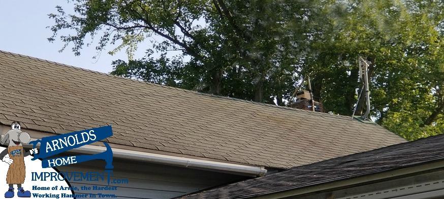 Partial roof repair in Wayne, Ohio 43466