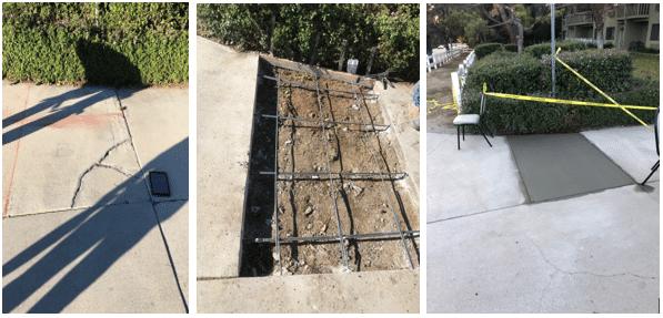 Concrete Repair in West Covina