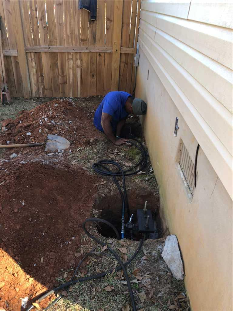 Lowcountry Basement Systems team members were able to help Jeremy