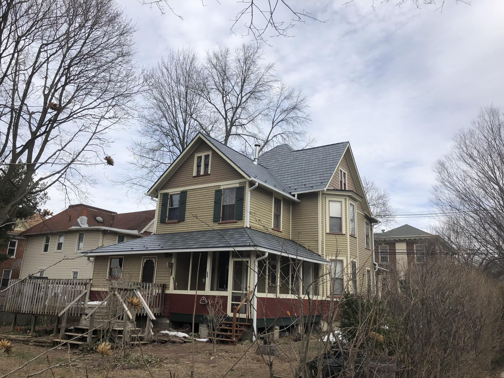 Stone Blend Metal Slate Roof Installation in Pennsauken, NJ