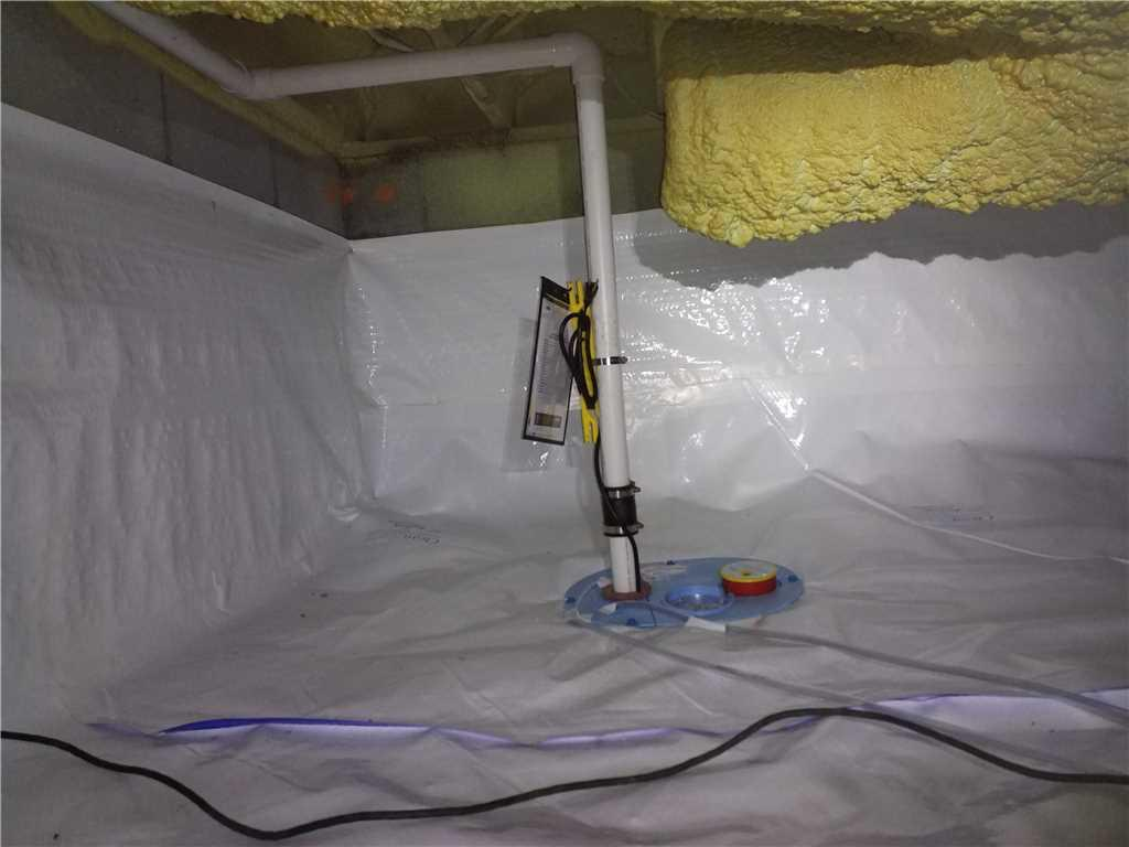 A Complete CrawlSpace Encapsulation System