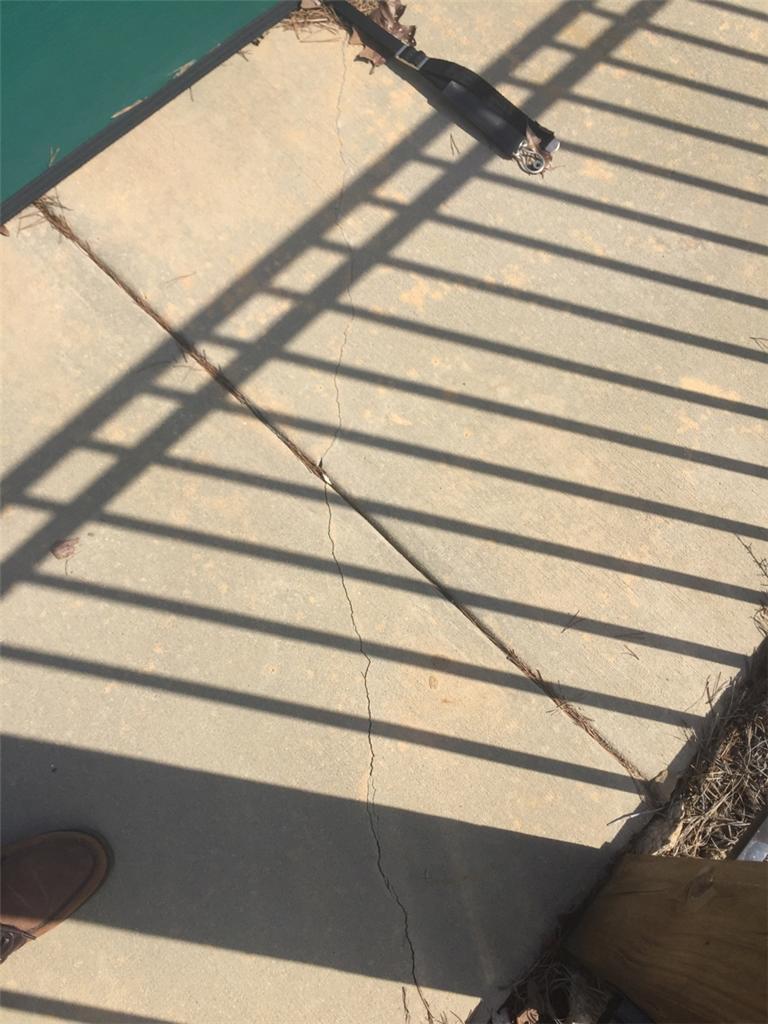 Sinking Pool Deck in Smyrna, SC