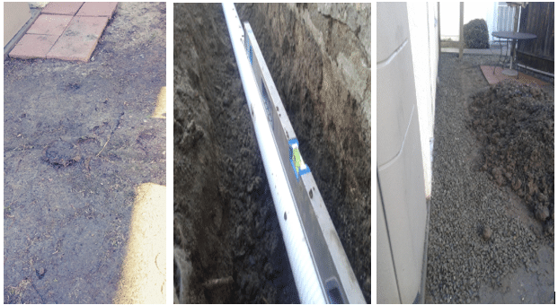 French Drain in San Diego