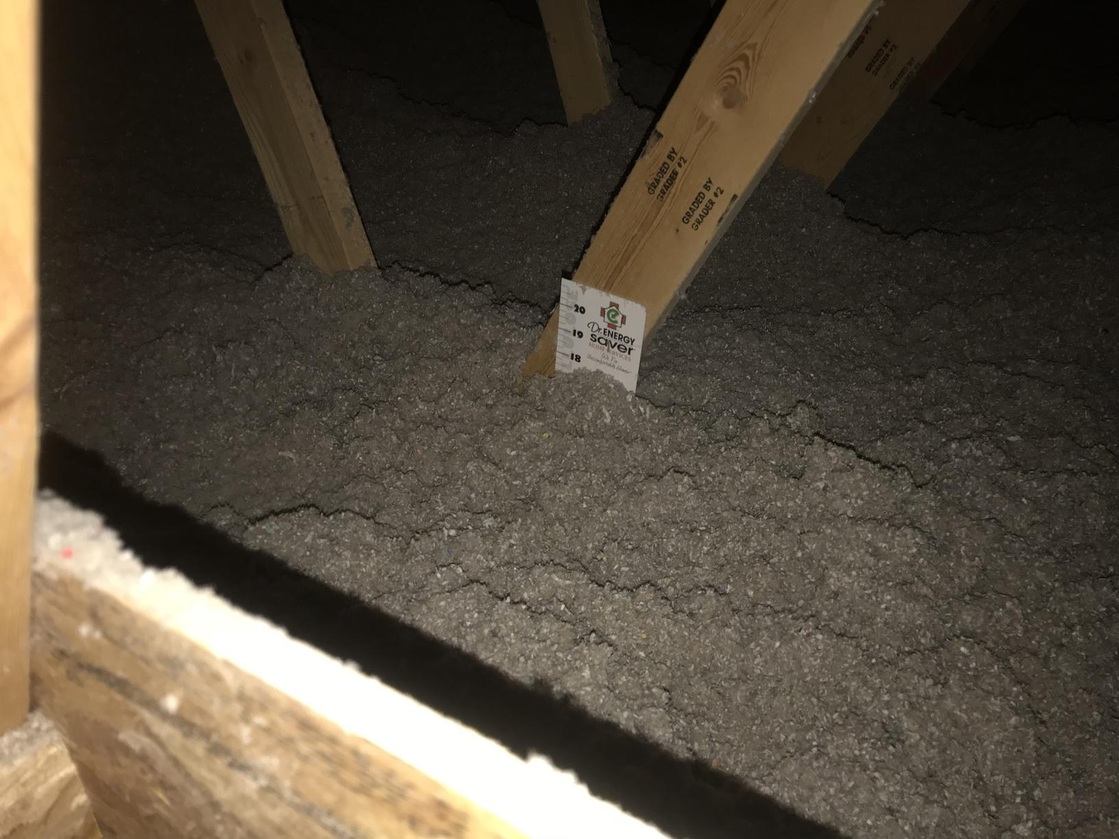 Blown-in Insulation to an R-60 Rating