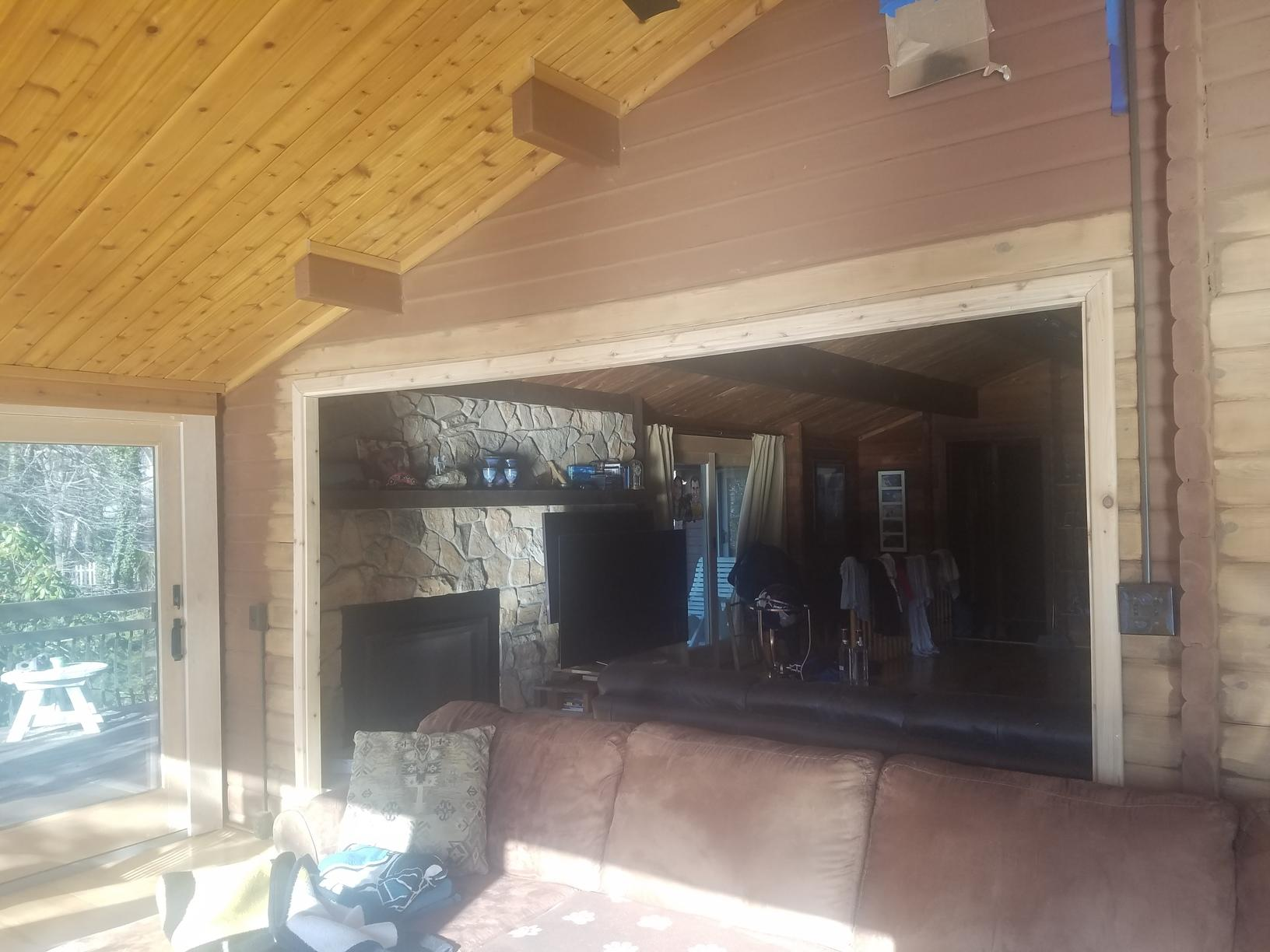 Opening Up Doorway to Sunroom