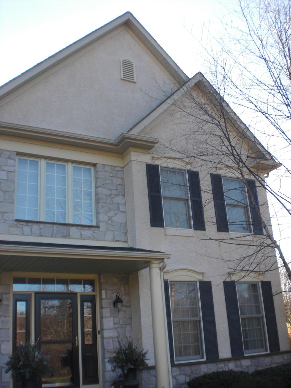 Replacing Moisture-Damaged Stucco in Doylestown, PA