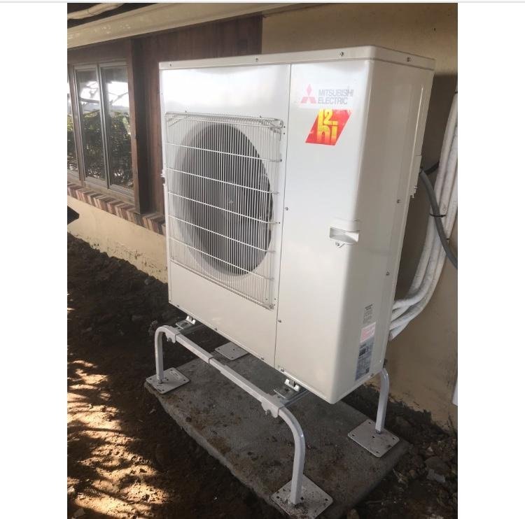 Mitsubishi Hyper Heat Ductless installation in Easton, CT