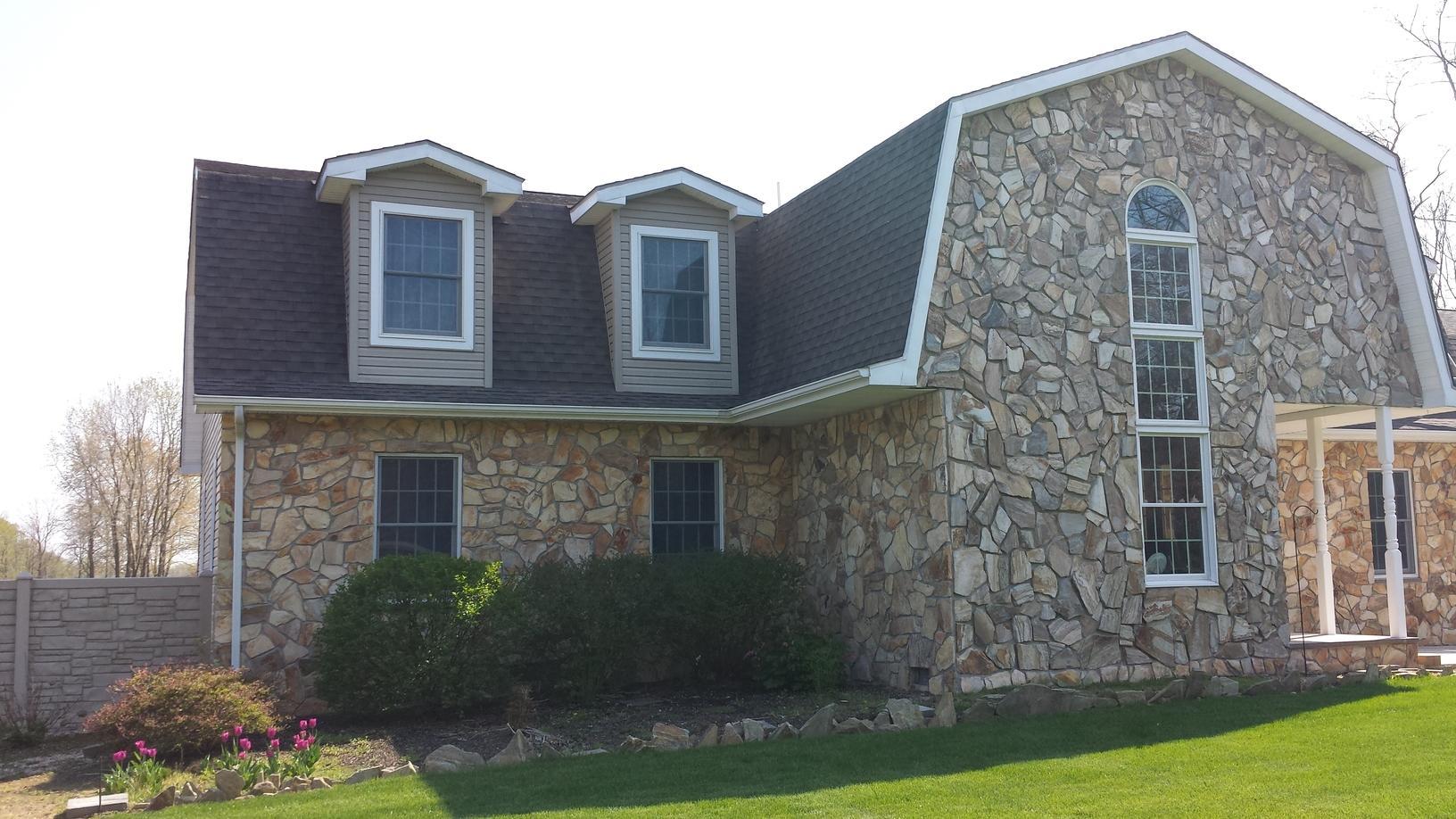Replacing Asphalt Shingles on Gambrel-Style Roof in Clayton, DE