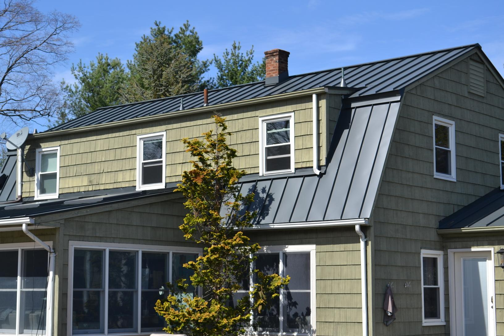 Custom Metal Roof Install in NJ