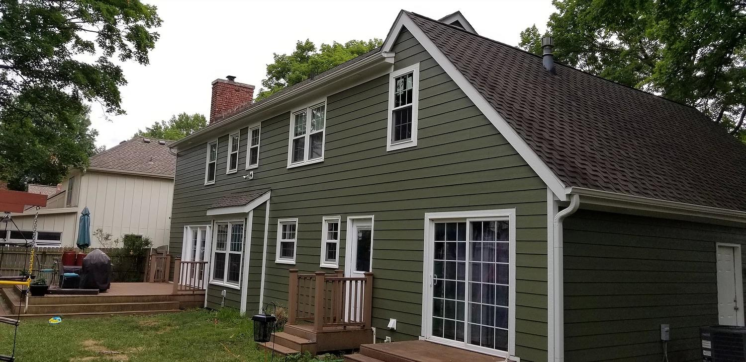 Siding installation in Missouri by AAA Siding & Remodeling