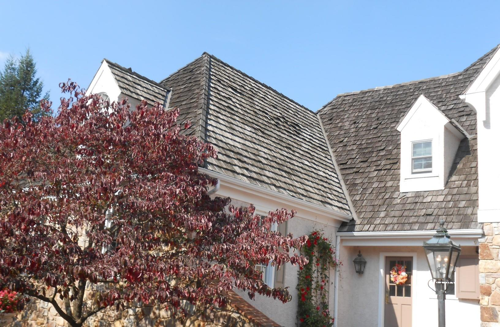 Replacing Cedar Shake Roof in Newtown Square, PA