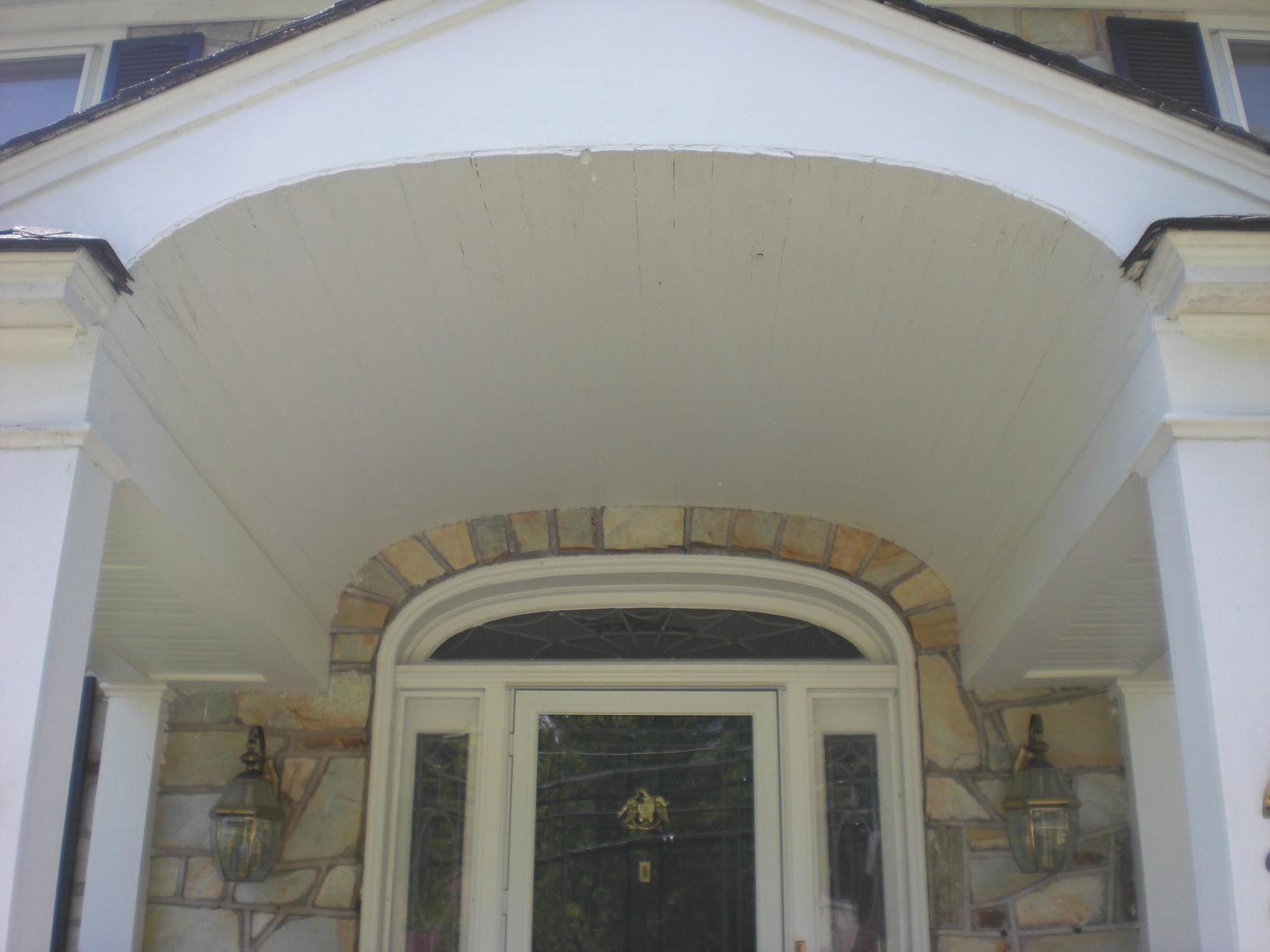 Before Shot of Portico