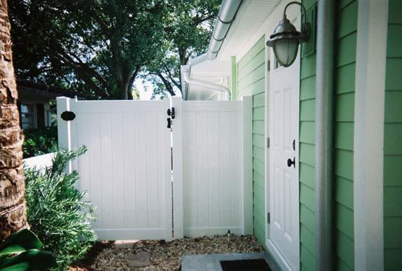 PVC Gate Back