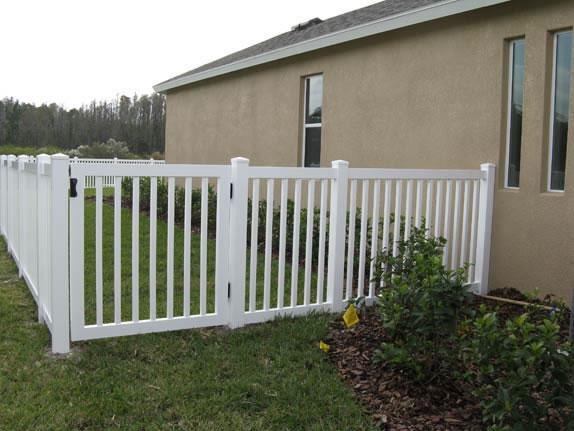 PVC Fence & Gate