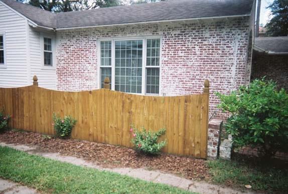 Gothic Wood Fence