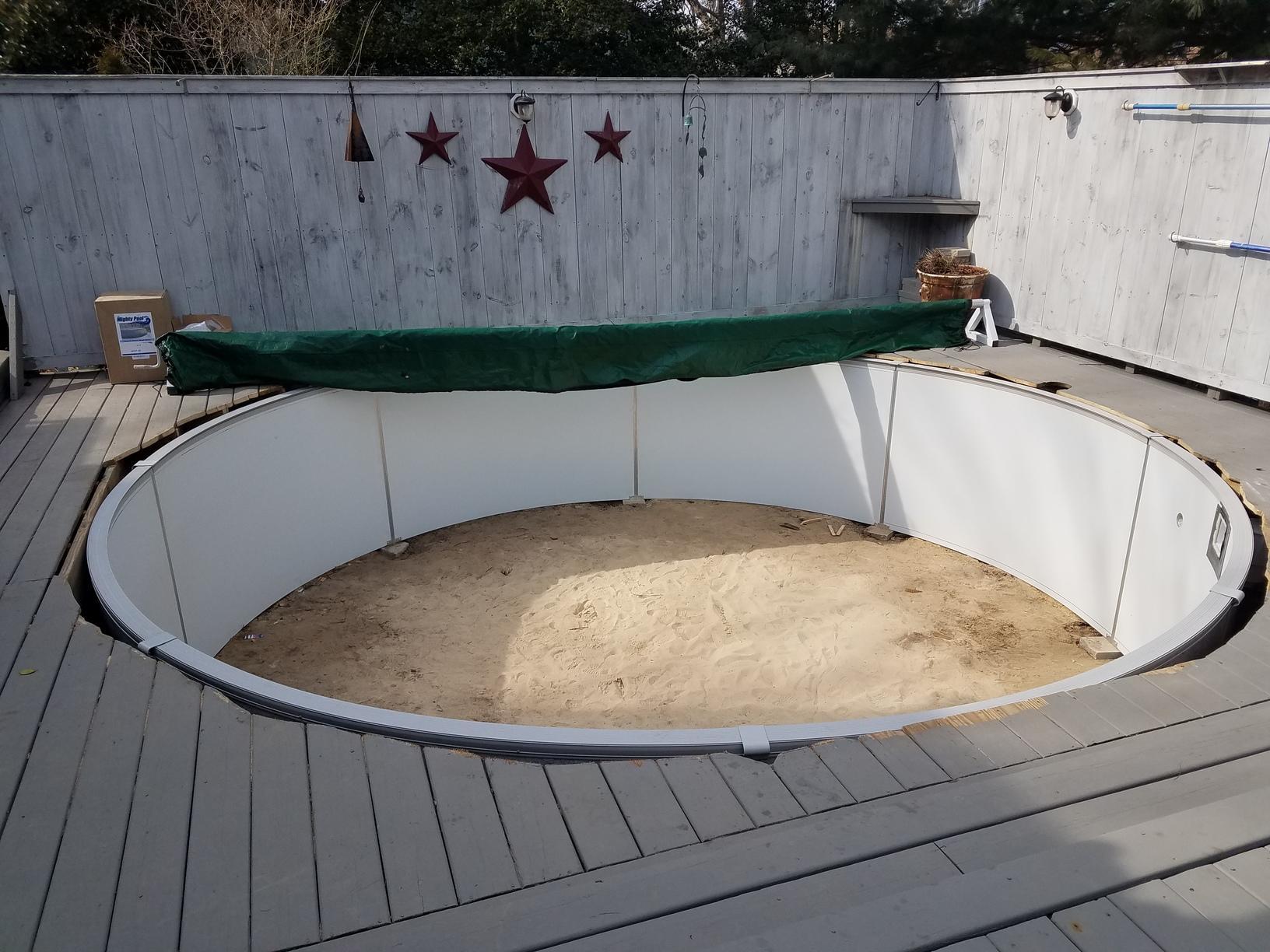 Installing Pool Liner