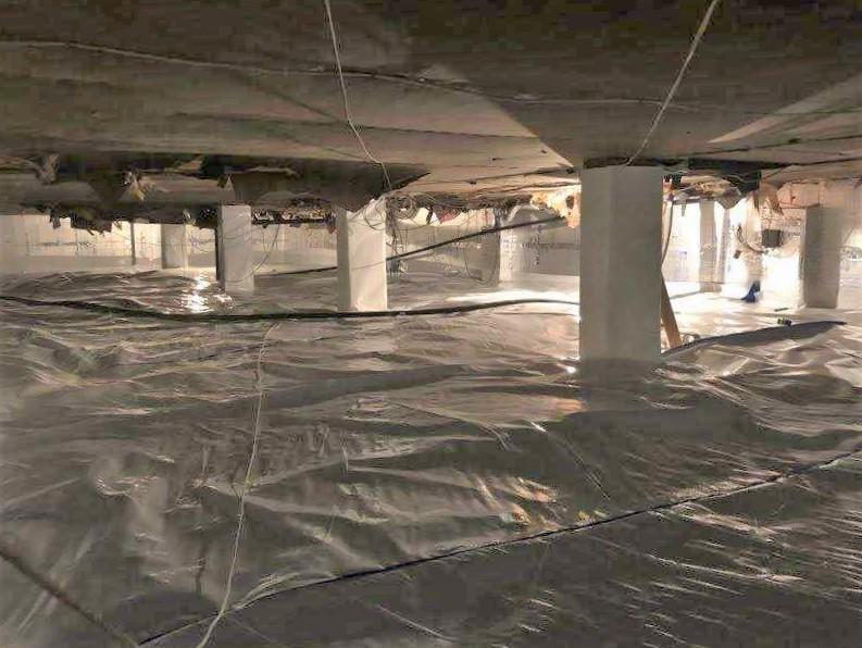 Isolated and Sealed Crawl Space
