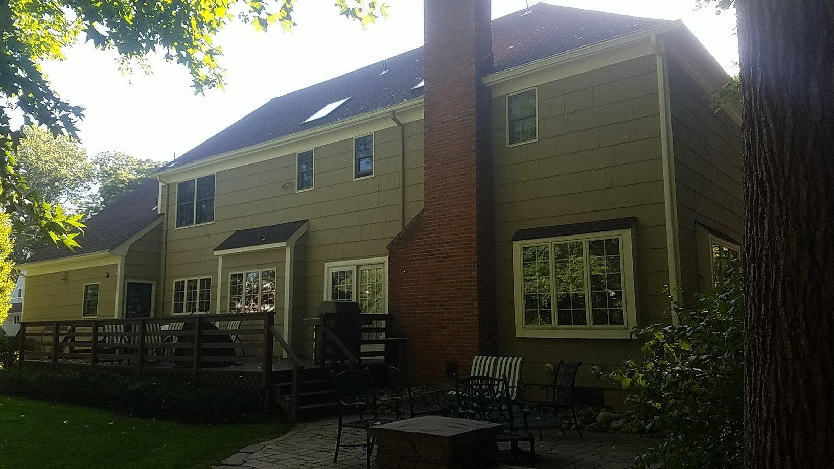 View of Back of Home