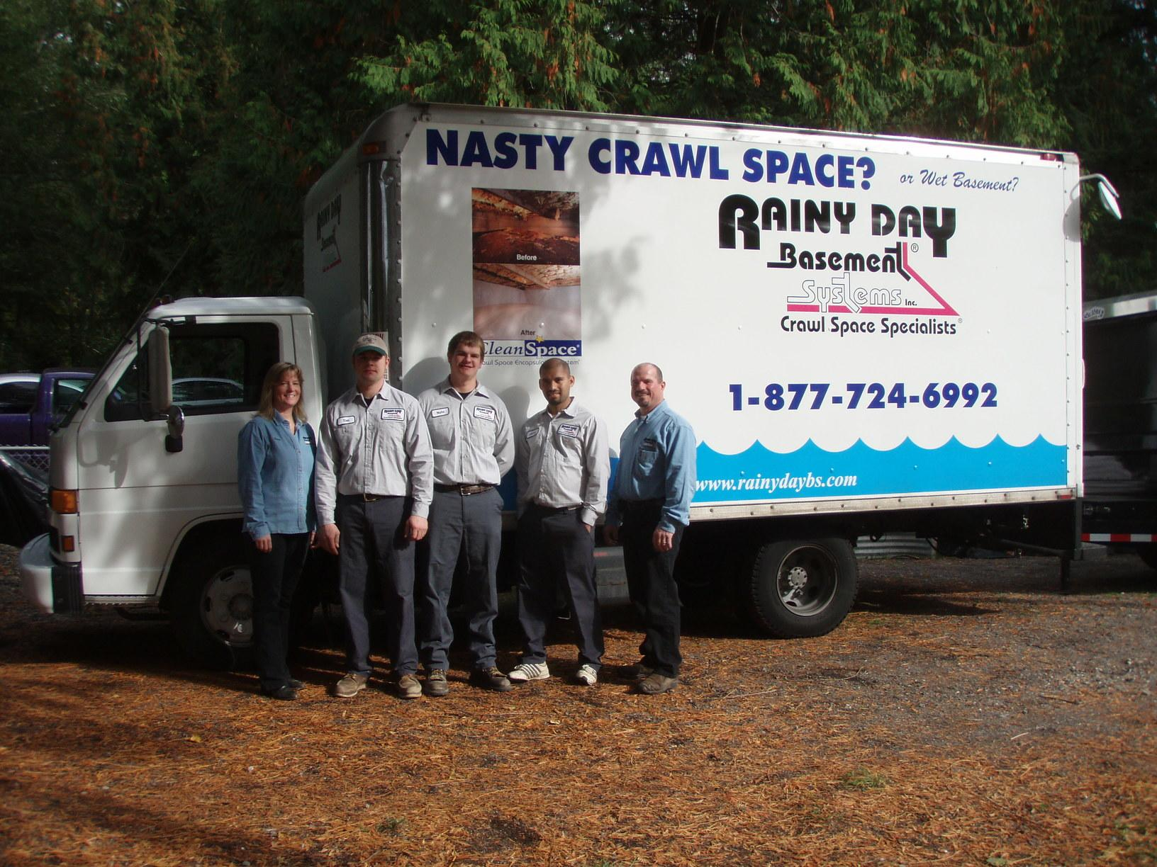 If you have a basement, crawl space, or foundation concern you know who to call!