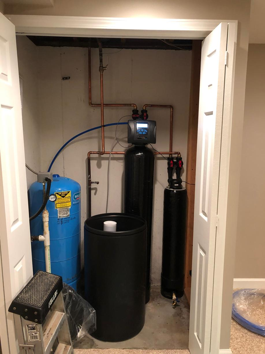 New Water Softener and One Filter in Naperville, IL