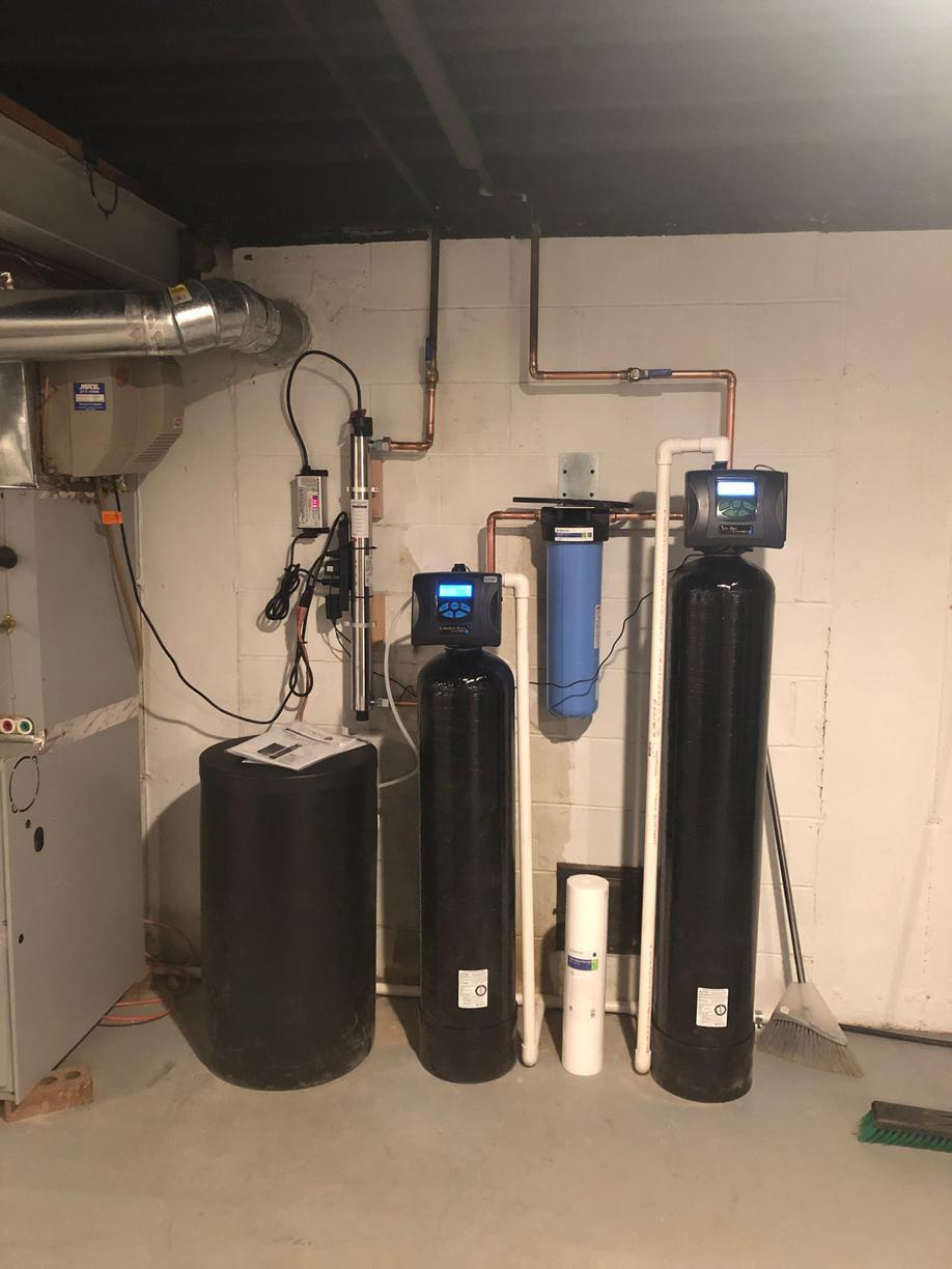 New Water Conditioning System in St. Charles, IL