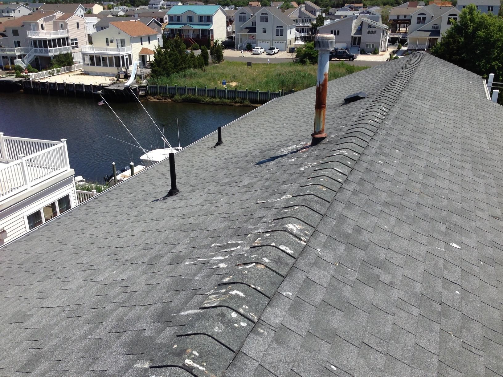 Replacing Jersey Shore Home's Asphalt Shingles with Metal Roof