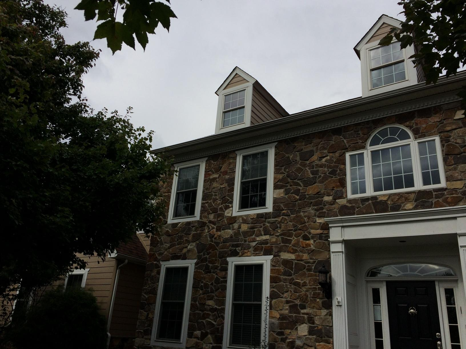 Pairing Hardie Planks with Existing Stone Siding in Chester Springs, PA