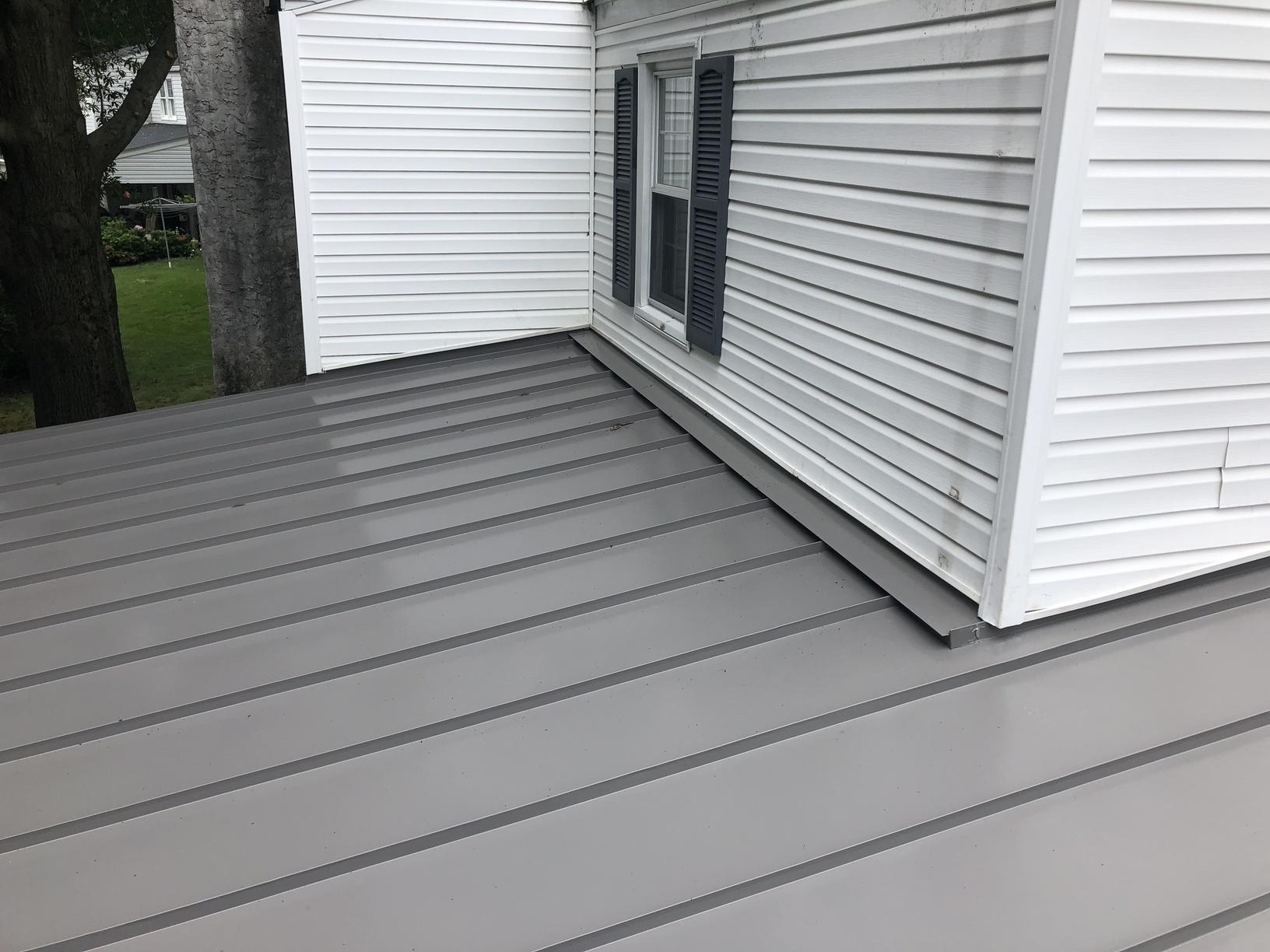 Owens Corning Shingles And Standing Seam Metal Roof