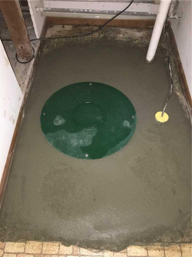 Sump Pump Safe in Culvert; Damascus, OR