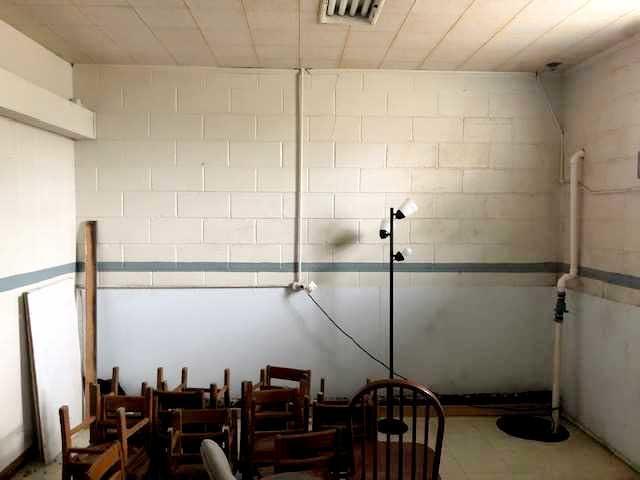 Wet Class Room Before Demolition