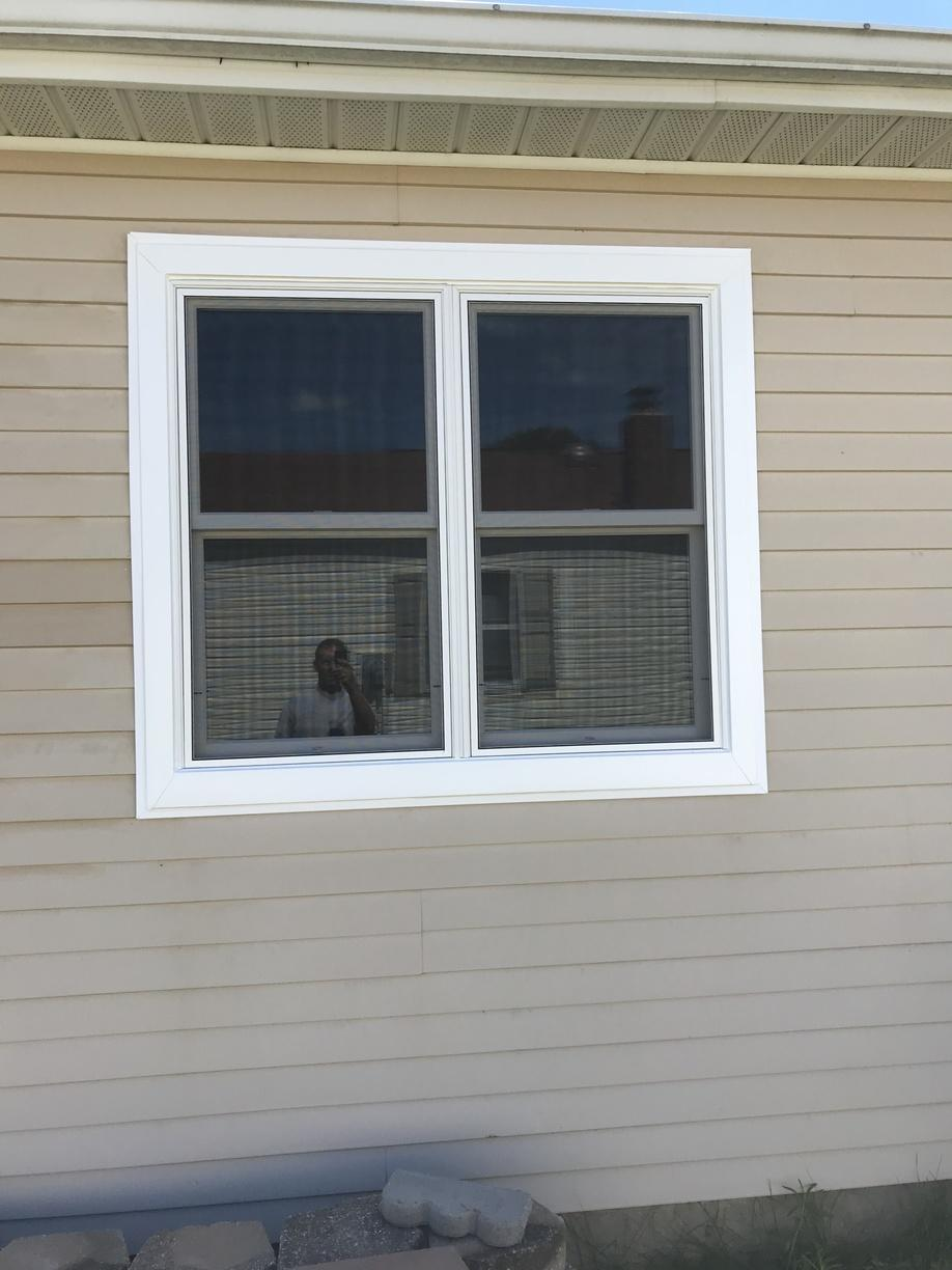 Marvin Infinity Double Hung Window Install on Jersey Shore Home