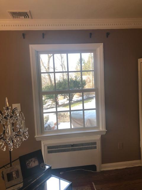 Marvin Infinity Windows with White Interior Installed in Essex Fells, NJ