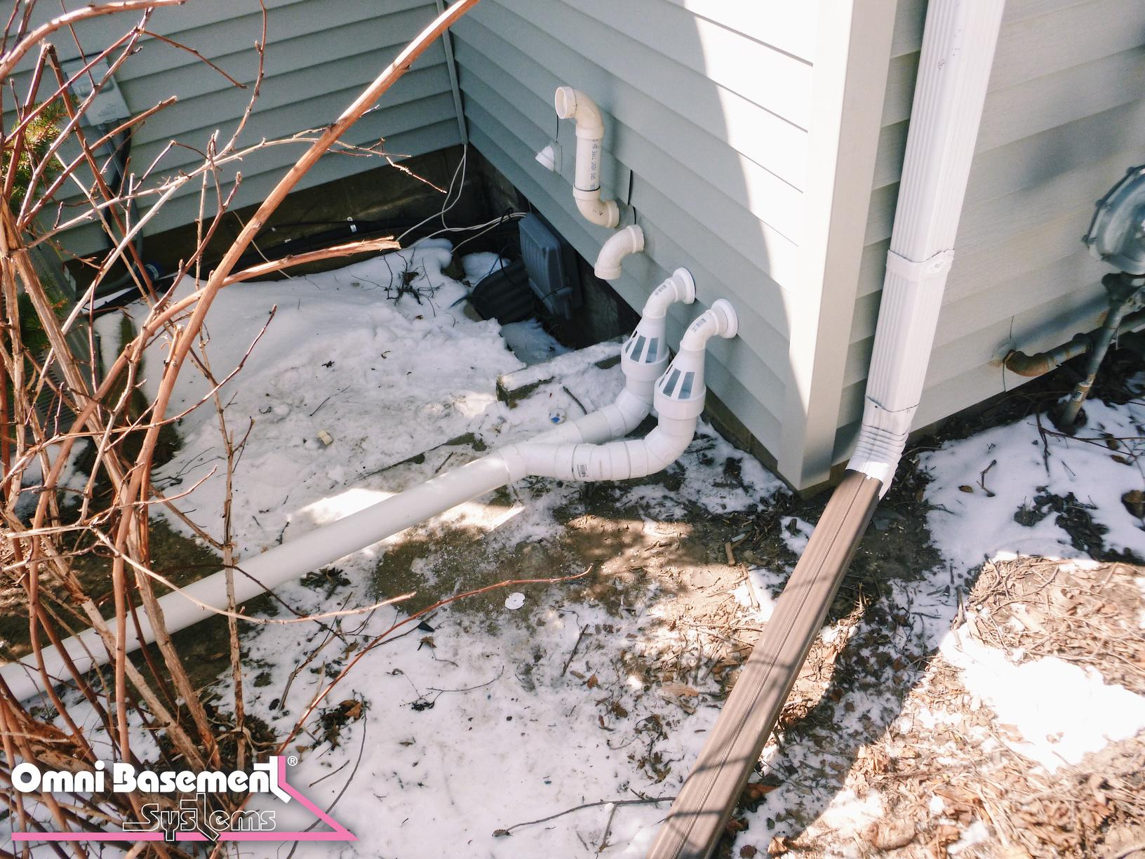 Waterproofing in Eden Mills