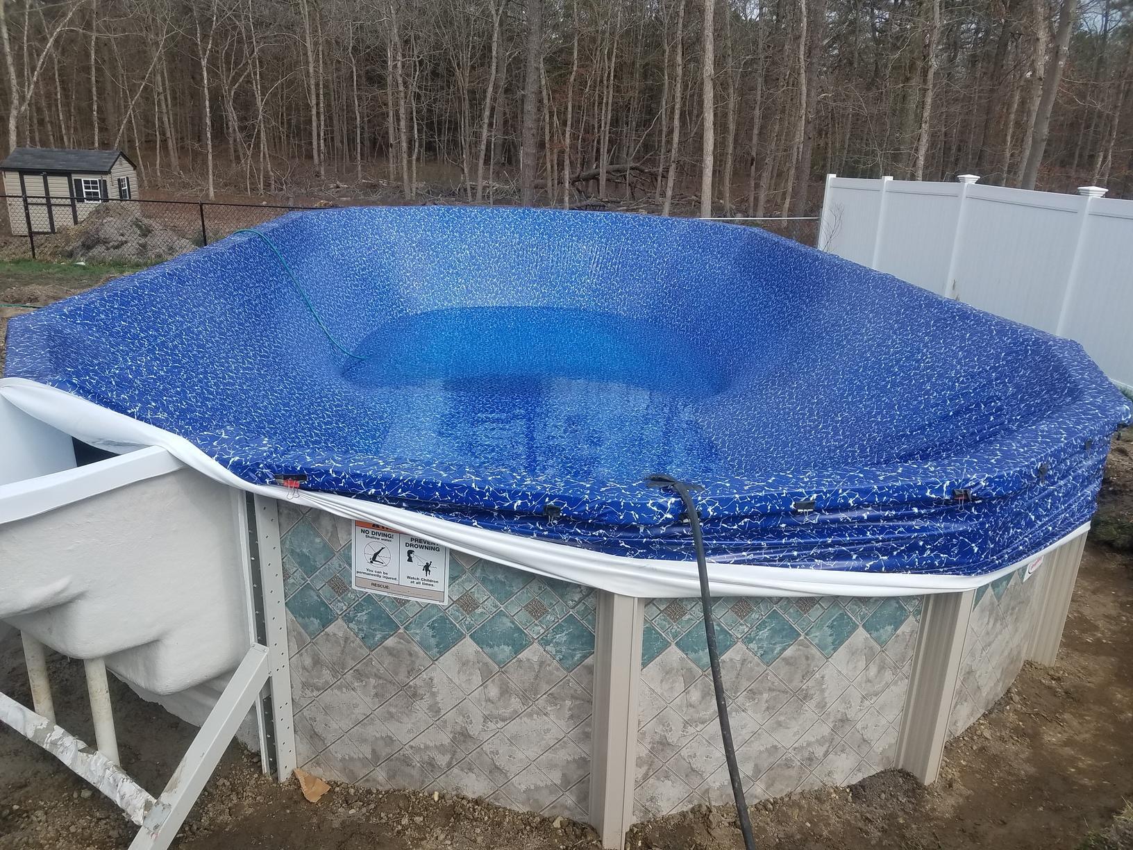 Doughboy Pool Installation in Barnegat, NJ