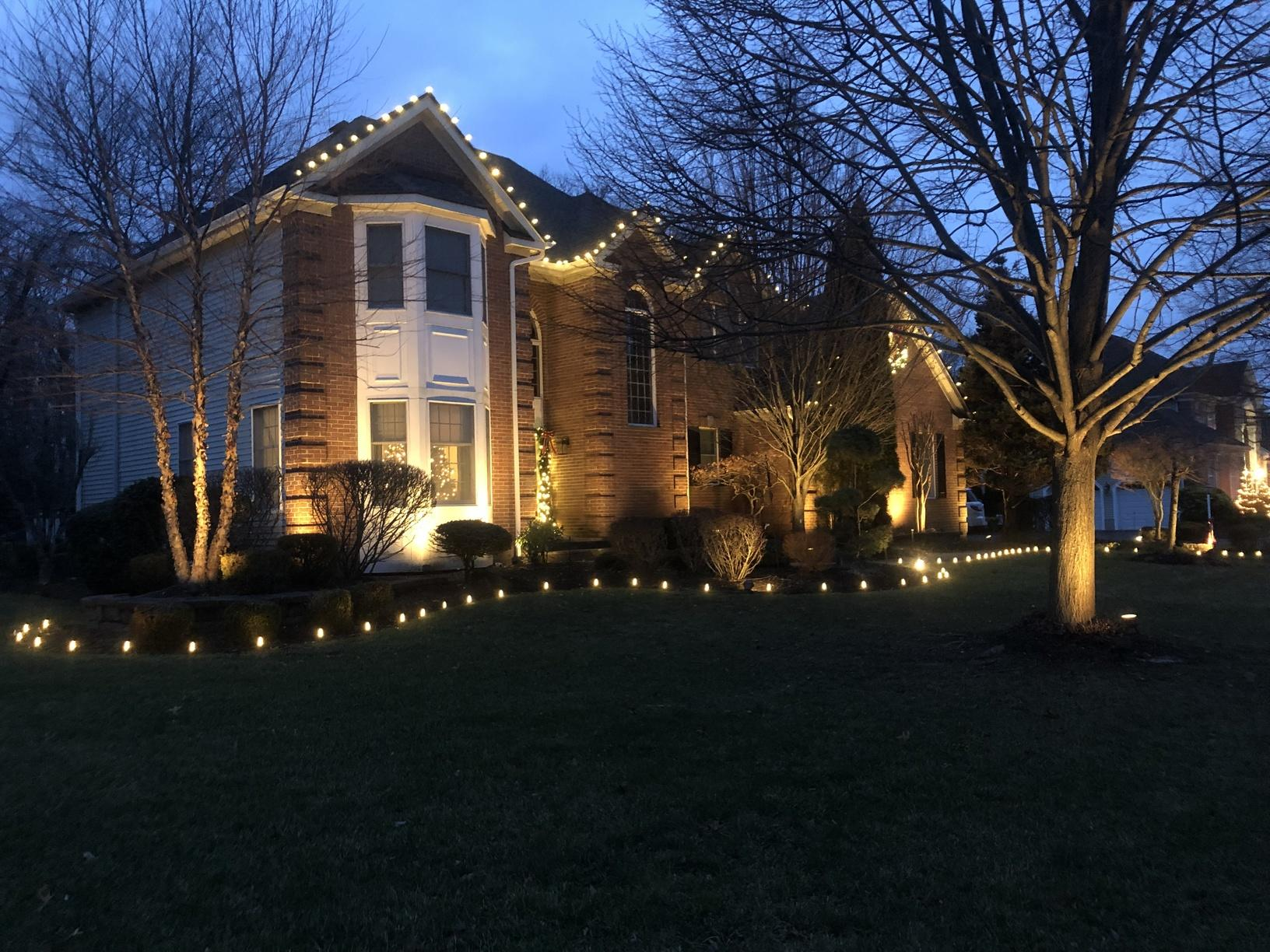 Christmas Lights Display In Manasquan