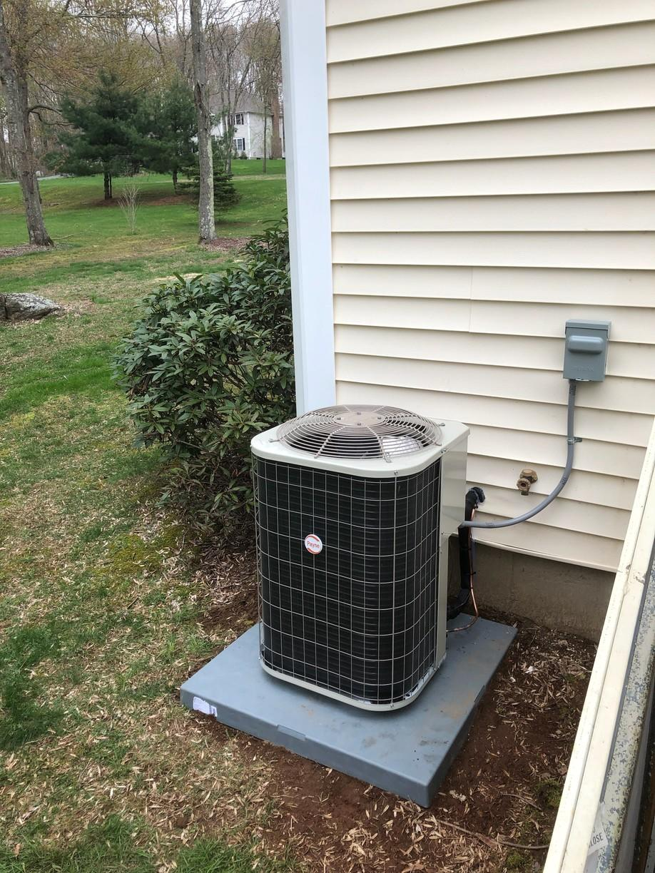Another great AC installation done for our customer in Colchester!!