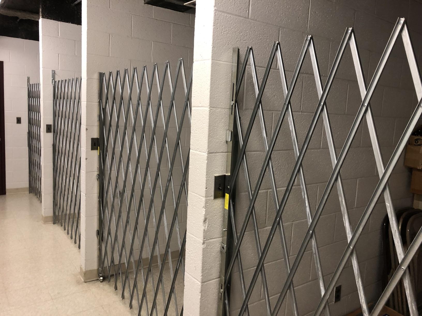 Folding Storage Gates